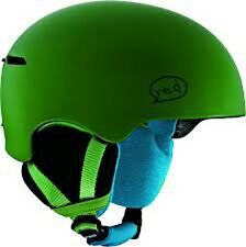 Burton RED Avid Grom Youth Snowboard Helmet (Green) S