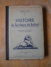1944 HAAS Histoire du Teritoire de Belfort 2
