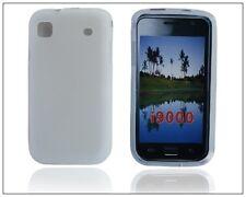 Samsung i9000 i9001 Galaxy S Plus - Housse silicone souple anti choc BLANC