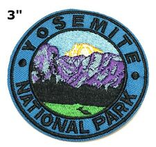 Yosemite National Park Embroidered Patch Iron / Sew-On Souvenir Gear Applique