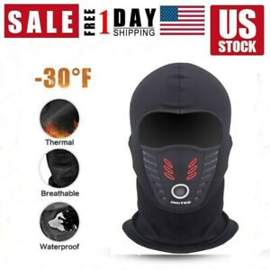 Eubell Winter Half Face Mask Windproof Neck Gaiter Breathable Ski Mask