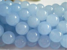 8mm Brazilian Aquamarine Round Gemstone Loose Bead 15AAA'''