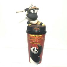 Kung Fu Panda 3 Movie Figurine Po Cup Topper Cinemas Theatres Model