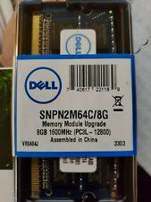 Dell 8 GB 2Rx8 PC3L-12800 (DDR3L-1600) 204Pin Sodimm Memory (SNPN2M64C/8G)