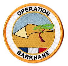 Écusson patche Opération Barkhane Mali OPEX patch badge brodé thermocollant
