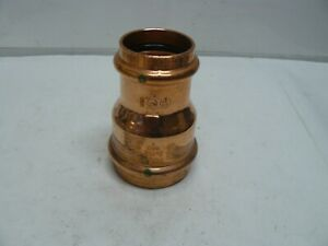 "Viega 78167 2"" x 1-1/2"" Propress Copper Reducer with EPDM new"