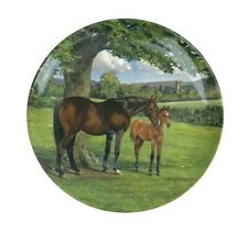 Spode English Thoroughbred Horse Race Whitcombe Limited Edition Collector Plate