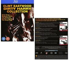 DIRTY HARRY 1 - 5  (1971-1988): BLU-RAY 5 Movie COLLECTION Clint Eastwood - NEW