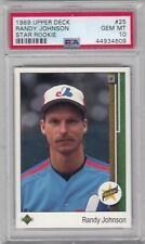 1989 Upper Deck #25 Randy Johnson Star Rookie RC GEM MINT PSA 10