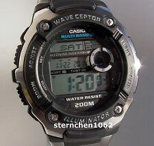 Casio * Wave Ceptor * WV-200DE-1AVER * Funkuhr *