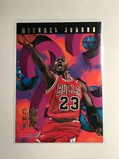 Michael Jordan 1995-96 NBA Hoops Number Crunchers Insert #1 of 25 HOF MJ Goat