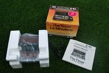 BSR SYSTEM X-10 THE TIMER HOME CONTROL SYSTEM NOS IN BOX NEVER USED WITH PAPERS