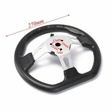 270mm 150cc - 300cc Go Kart Steering Wheel Racing Off road Sport Cart Part Sunl