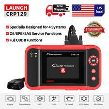 Premium LAUNCH X431 CRP129 OBD2 Car Scanner Automotive Diagnostic Tool 4 System