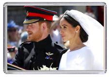 Prince Harry and Meghan Markle Royal Wedding Fridge magnet 02
