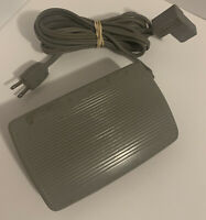 Vintage SINGER Sewing Machine Motor Speed Controller Foot Pedal CR-301 4-Prong