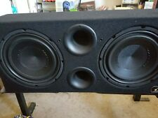Massive high performance subwoofer with N2 mono amp and 4 way diamond amp