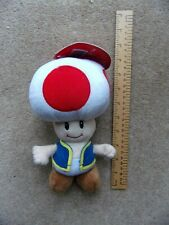 "NINTENDO TOAD Super Mario Bros Collectible Plush Soft toy 8"" Together Plus"
