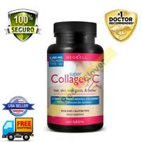 MEJORES Pastillas De Colageno Hidrolizado Con Vitamina C - 120 Capsulas