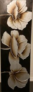 painting Lotus De Rahel, Abstract, Medium condition, it has a chip on home part