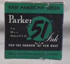 Parker Vintage 51 Ink---Pan American Green--3oz