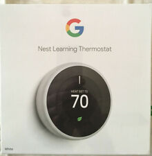 Google Nest Thermostat 3rd generation, White - T3017US