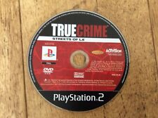 True Crime Streets Of LA Ps2 Game! Disc Only! Look In The Shop!