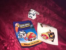 ANGRY BIRDS STAR WARS STORMTROOPER HANGER KEY CLASP WITH STICKERS AND LEAFLET