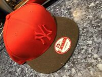 New Era Men's Baseball Cap Pop Tonal 950 NY New York Yankees Snapback S/M RED