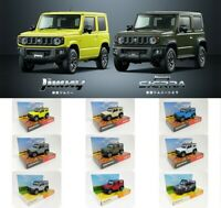 1:64 Dorlop Suzuki Jimny Sierra JB64/JB74 MK4 IV 2018-2019 Dealer Set 6,7 Colors