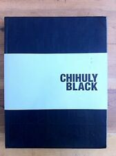 Chihuly Black SIGNED by Dale Chihuly 1st Edition 2008 LIMITED Glass Blowing