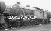BRITISH RAIL RAILWAY STEAM PHOTO 1960/'S L.M 4F 44301 DARLINGTON WORKS 1964