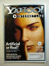 Yahoo Internet Life magazine - August 2001 - Artificial Intelligence article