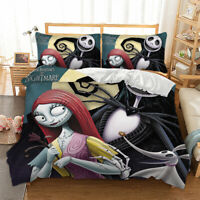 The Nightmare Before Christmas Duvet Cover Bedding Set Single Double King Sizes