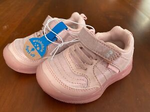 Surprize by Stride Rite Toddler Girls Sabina Light Up Washable Sneakers Pink 4