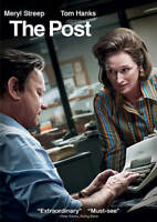 The Post (DVD, 2018) BRAND NEW FREE SHIPPING!!!