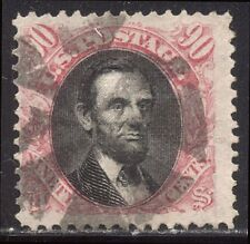 U.S. #122 SCARCE Used - 1869 90c Pictorial