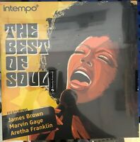 The Best Of Soul (Vinyl) Aretha Franklin James Brown Etta James-New Sealed