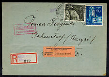 1941 Neumarkt Poland Germany GG Dual Censored cover to Gebenstorf Switzerland