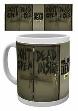 Official The Walking Dead AMC Mug Don't Open Dead Inside Doors TV Zombie Gift