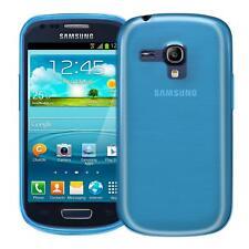 Dünn Slim Cover Samsung Galaxy S3 Mini Handy Hülle Silikon Case Schutz Tasche
