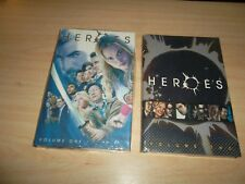 HEROES TV SERIES VOLUME ONE & TWO DC COMICS HARDCOVER BOOKS - BRAND NEW/SEALED.