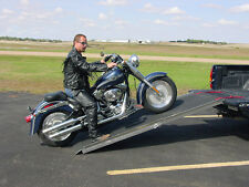 Bad Boy Motorcycle Ramp for Enclosed Trailer, Toy, Garage, Race Shop, Auto