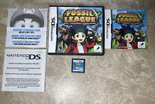 Fossil League: Dino Tournament Championship (Nintendo DS, 2007) AUTHENTIC