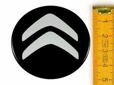 CITROËN ★ 4 Stück ★ SILIKON Ø50mm Aufkleber Emblem Felgenaufkleber Radkappen
