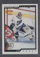 1996/97 Score Artist's Proof #74 Jim Carey,Washington Capitals