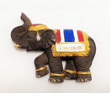 ELEPHANT THAI 3D THAILAND FRIDGE MAGNET RESIN CRAFT HANDMADE SOUVENIR GIFT CB01