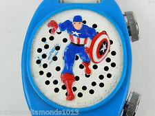 Vintage Janex Captain American 1976 Janex Corp Transistor Wrist Radio