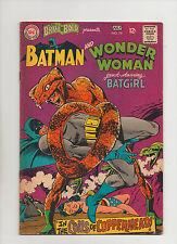 Brave & The Bold #78 - Batman & Wonder Woman With Batgirl - (Grade 7.0) 1968