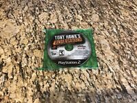 Tony Hawk's Underground Sony Playstation 2 PS2 DISC ONLY